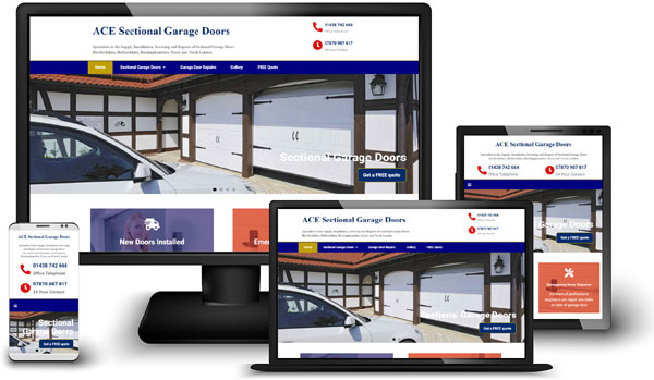 Portfolio - ACE Sectional Garage Doors